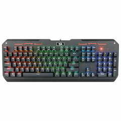 Клавиатура проводная игровая REDRAGON Varuna, USB, 104 клавиши, с подсветкой, черная, 74904