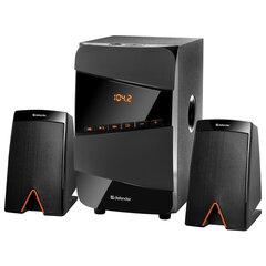 Колонки компьютерные DEFENDER X361, 2.1, 36 Вт, Bluetooth, FM-тюнер, пластик, черные, 65361