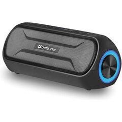 Колонка портативная DEFENDER Enjoy S1000, 2.0, 20 Вт, bluetooth, microUSB, черная, 65688
