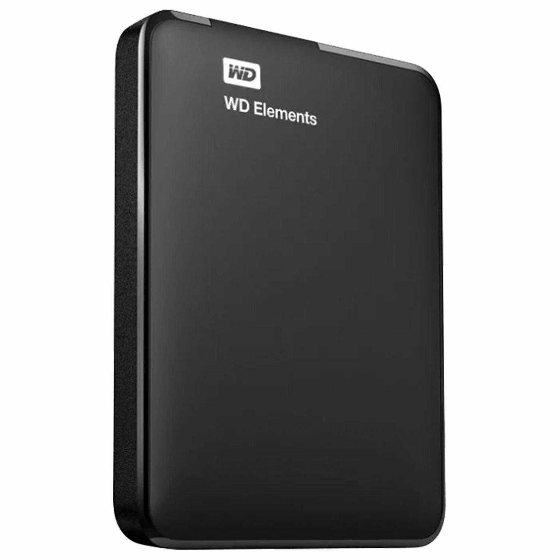 """Внешний жесткий диск WD Elements Portable 1TB 2.5"""" USB 3.0 черный, WDBMTM0010BBK-EEUE"""