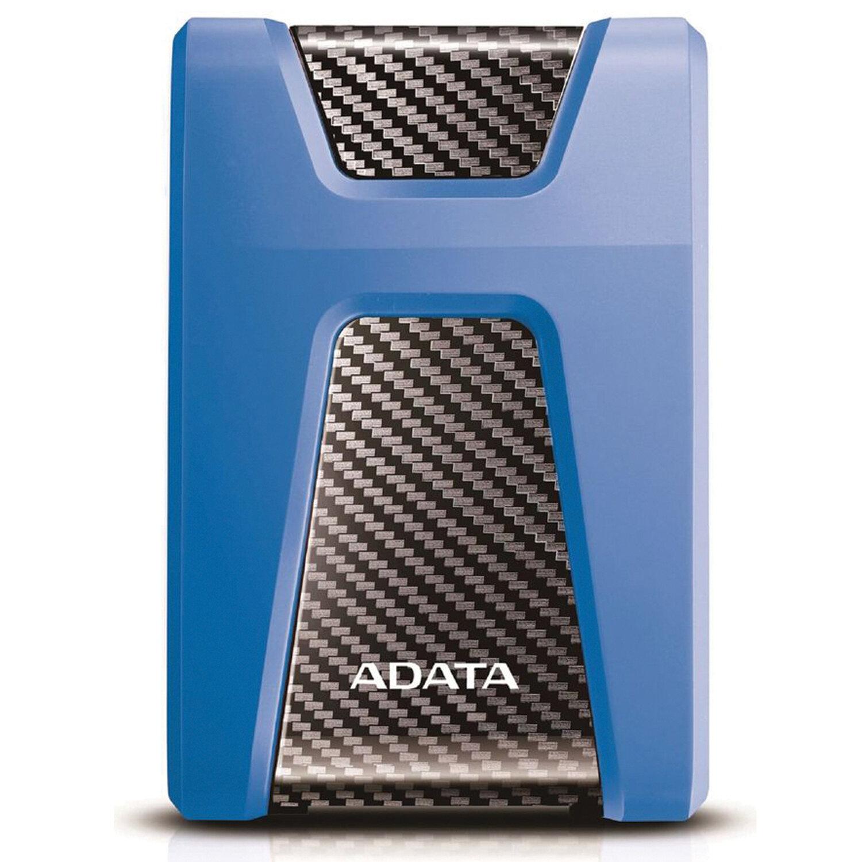 "Внешний жесткий диск A-DATA DashDrive Durable HD650 1TB, 2.5"", USB 3.0, синий, AHD650-1TU31-CBL"