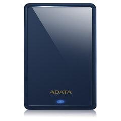 """Внешний жесткий диск A-DATA DashDrive Durable HV620S 1TB, 2.5"""", USB 3.0, синий, AHV620S-1TU31-CBL"""