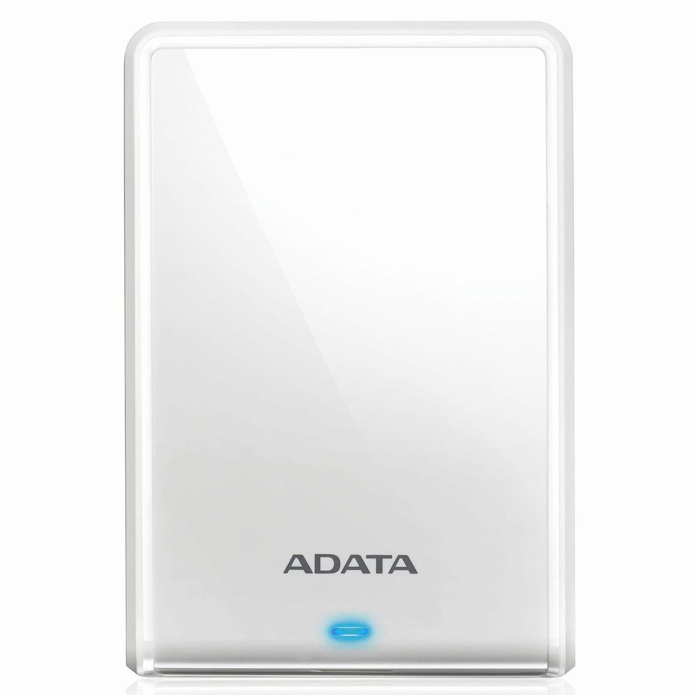 """Внешний жесткий диск A-DATA DashDrive Durable HV620S 1TB, 2.5"""", USB 3.0, белый, AHV620S-1TU31-CWH"""