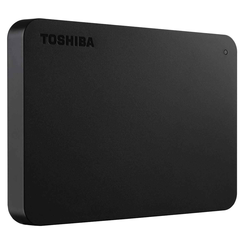 """Внешний жесткий диск TOSHIBA Canvio Basics 2TB, 2.5"""", USB 3.0, черный, HDTB420EK3AA"""