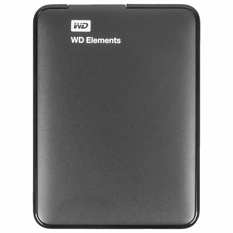 """Внешний жесткий диск WD Elements Portable 4TB, 2.5"""", USB 3.0, черный, WDBW8U0040BBK-EEUE"""