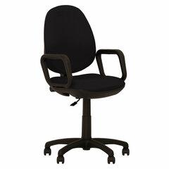 """Кресло """"Comfort GTP"""" с подлокотниками, черное ZT-25"""