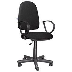 """Кресло """"Jupiter GTP"""", с подлокотниками, черное, C-11"""