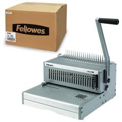 """Переплетная машина для пластиковой пружины FELLOWES """"ORION"""", пробивает до 30 л., сшивает до 500 л., FS-56426"""