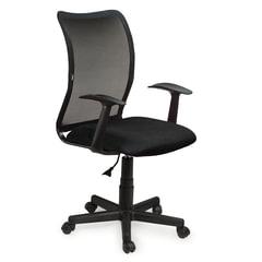 """Кресло BRABIX """"Spring MG-307"""", с подлокотниками, черное TW, 531406"""