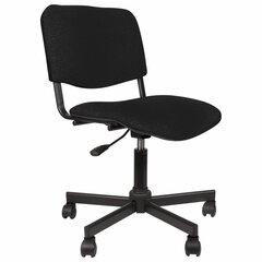 Кресло КР09, без подлокотников, черное