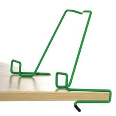 Подставка для книг ДЭМИ, металлическая, зеленая