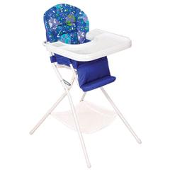 Кресло детское для кормления ДЭМИ КДС.03, съемный столик, цвет синий/белый