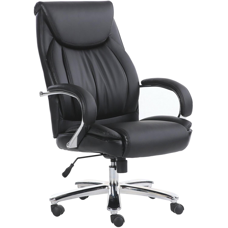 """Кресло офисное BRABIX PREMIUM """"Advance EX-575"""", хром, экокожа, черное, 531825"""