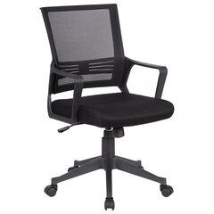 """Кресло BRABIX """"Balance MG-320"""", с подлокотниками, черное, 531831"""