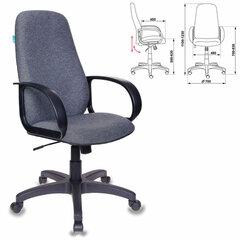 Кресло офисное CH-808AXSN/G, ткань, темно-серое
