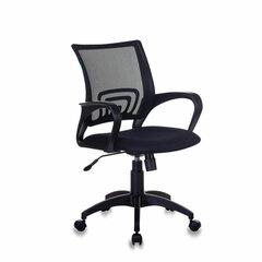 Кресло CH-695N/BLACK, с подлокотниками, сетка, черное