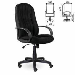 """Кресло офисное BRABIX """"Classic EX-685"""", ткань E, черное, 532024"""