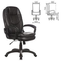 """Кресло офисное BRABIX PREMIUM """"Trend EX-568"""", экокожа, черное, 532100"""
