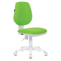 """Кресло BRABIX """"Fancy MG-201W"""", без подлокотников, пластик белый, салатовое, 532414"""