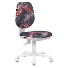 "Кресло BRABIX ""Fancy MG-201W"", без подлокотников, пластик белый, с рисунком ""Graffity"", 532415"