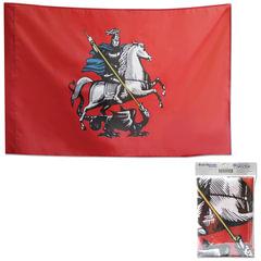 Флаг Москвы, 90х135 см, упаковка с европодвесом