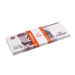 """Деньги шуточные """"500 рублей"""", упаковка с европодвесом"""