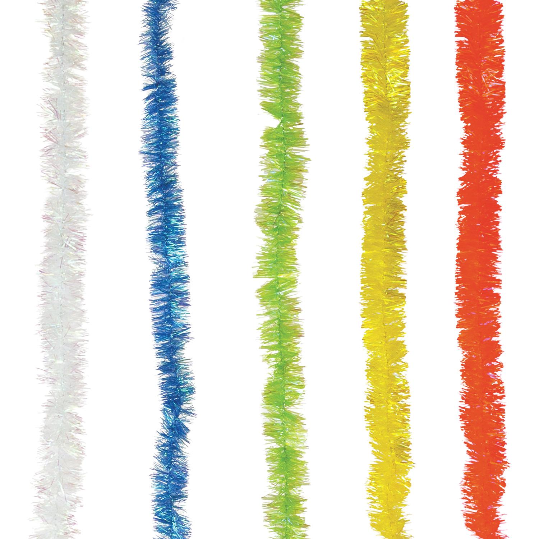 """Мишура """"Нежность"""", 1 штука, диаметр 25 мм, длина 2 м, ассорти 5 цветов, Г-242"""