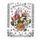 """Украшение для окон и стекла декоративное """"Список подарков"""", 30х38 см, ПВХ"""