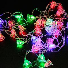 """Электрогирлянда светодиодная """"КОЛОКОЛЬЧИКИ"""", 30 ламп, 5 м, многоцветная"""