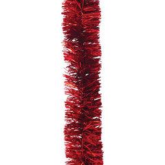 """Мишура """"Праздничная"""", 1 штука, диаметр 35 мм, длина 2 м, красная"""