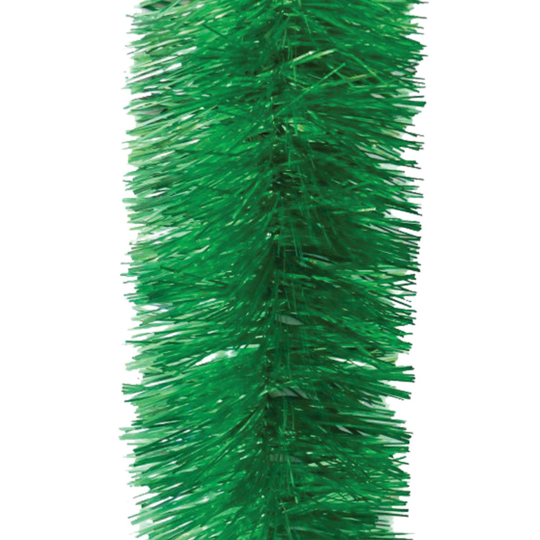 Мишура 1 штука, диаметр 100 мм, длина 2 м, зеленая
