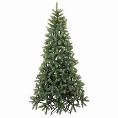 """Ель новогодняя искусственная """"Christmas Beauty"""" 210 см, литой ПЭТ+ПВХ, зеленая, ЗОЛОТАЯ СКАЗКА, 591314"""
