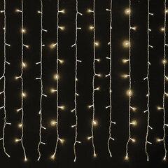 Гирлянда светодиодная ЗАНАВЕС НА ОКНО, 3х2 м, 306 ламп, теплый белый, ЗОЛОТАЯ СКАЗКА, 591334