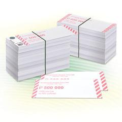 Накладки для упаковки корешков банкнот, комплект 2000 шт., номинал 500 руб.