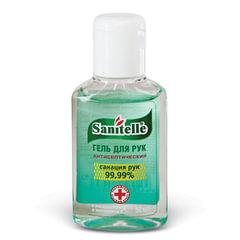 Антисептик-гель для рук спиртосодержащий (62%) 50мл SANITELLE (Санитель), Алоэ