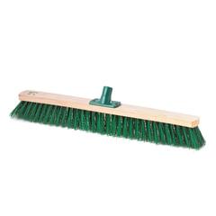 Щетка для уборки техническая, ширина 60 см, щетина 6,5 см, деревянная, еврорезьба, SVIP