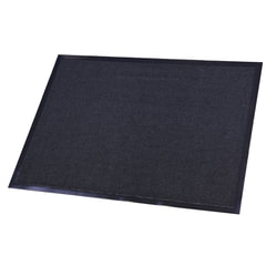 Коврик входной ворсовый влаго-грязезащитный FLOORTEX, 80х120 см, ворс 4,5 мм, основа 2,5 мм, темно-серый