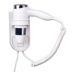 Фен для волос, стационарный, BXG-1600 H1, 1600 Вт, пластик/металл, белый