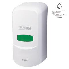 Диспенсер для жидкого мыла LAIMA PROFESSIONAL CLASSIC, НАЛИВНОЙ, 0,6 л, белый, ABS-пластик, 601423
