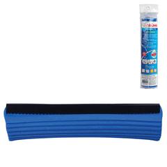 Насадка МОП для швабры самоотжимной роликовой 601466, PVA, 26 см, синяя, LAIMA, 601484