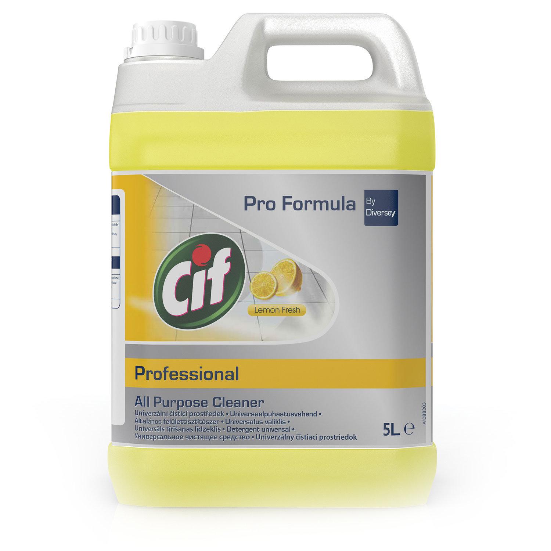 """Чистящее средство 5 л, CIF (Сиф) """"Professional"""", универсальное, для мытья полов и стен"""