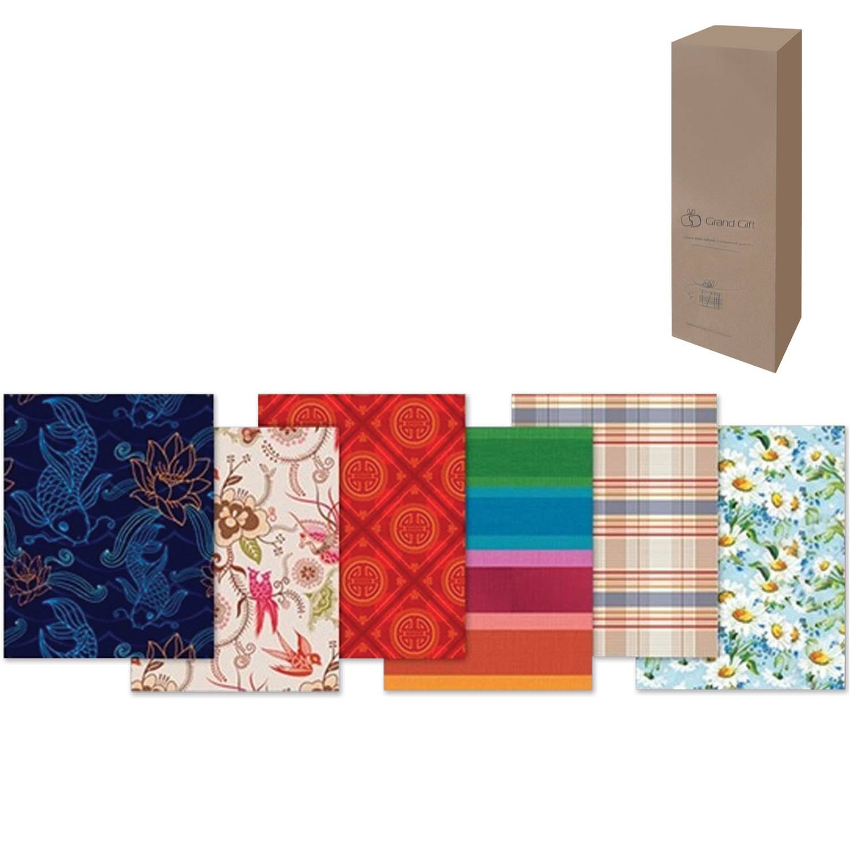 Бумага упаковочная подарочная, в рулонах, глянцевая, 2 листа, 0,7х1 м, рисунок ассорти (мужской)