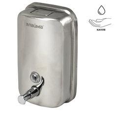 Диспенсер для жидкого мыла LAIMA PROFESSIONAL BASIC, 1 л, нержавеющая сталь, зеркальный, 601796