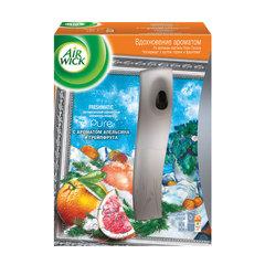 """Освежитель воздуха автоматический 250 мл, AIRWICK Pure, диспенсер + сменный баллон, """"Апельсин и грейпфрут"""""""