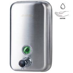 Диспенсер для жидкого мыла KSITEX, наливной, нержавеющая сталь, матовый, 0,8 л, SD 1618-800 M
