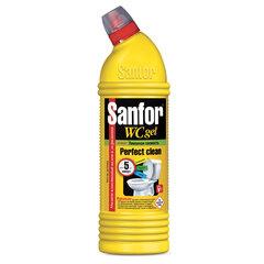 """Средство для уборки туалета 750 г, SANFOR WC gel (Санфор гель) """"Лимонная свежесть"""""""