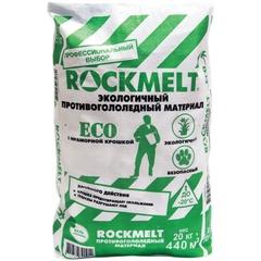 """Реагент антигололедный 20 кг, ROCKMELT Eco (""""Рокмелт Эко""""), до -20С, мешок"""
