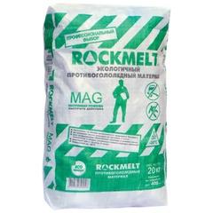 """Реагент антигололедный 20 кг, ROCKMELT Mag (""""Рокмелт Маг""""), до -30С, мешок"""