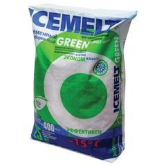 "Реагент антигололедный 25 кг, ICEMELT Green (""Айсмелт Грин""), до -15С, мешок"
