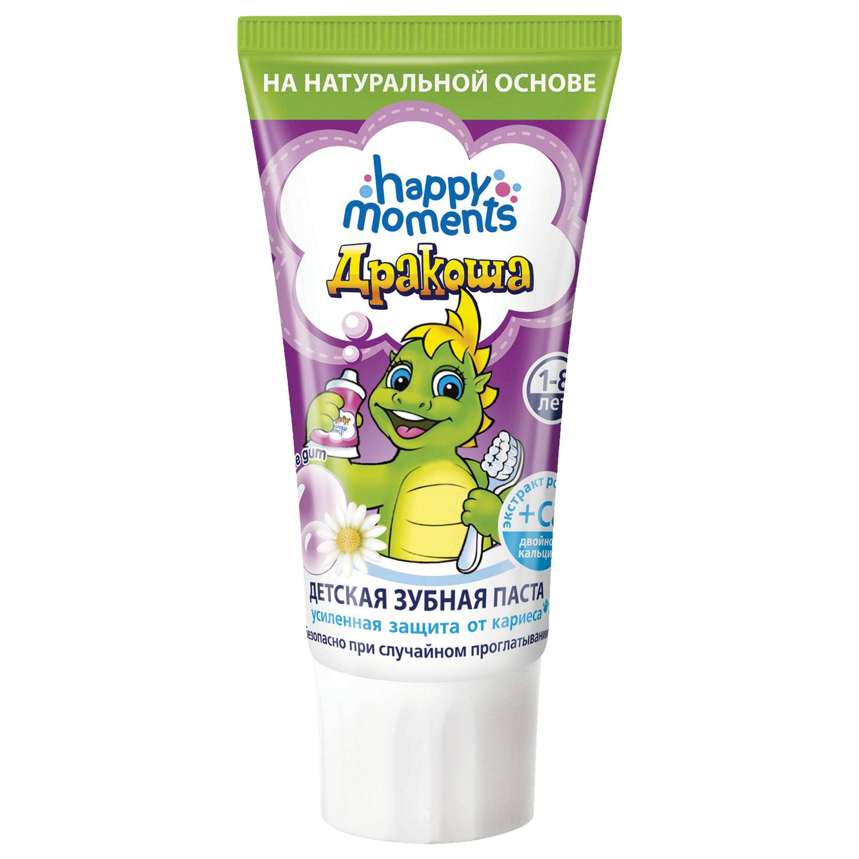 """Зубная паста детская 60 мл, ДРАКОША """"Bubble Gum"""", гелевая"""